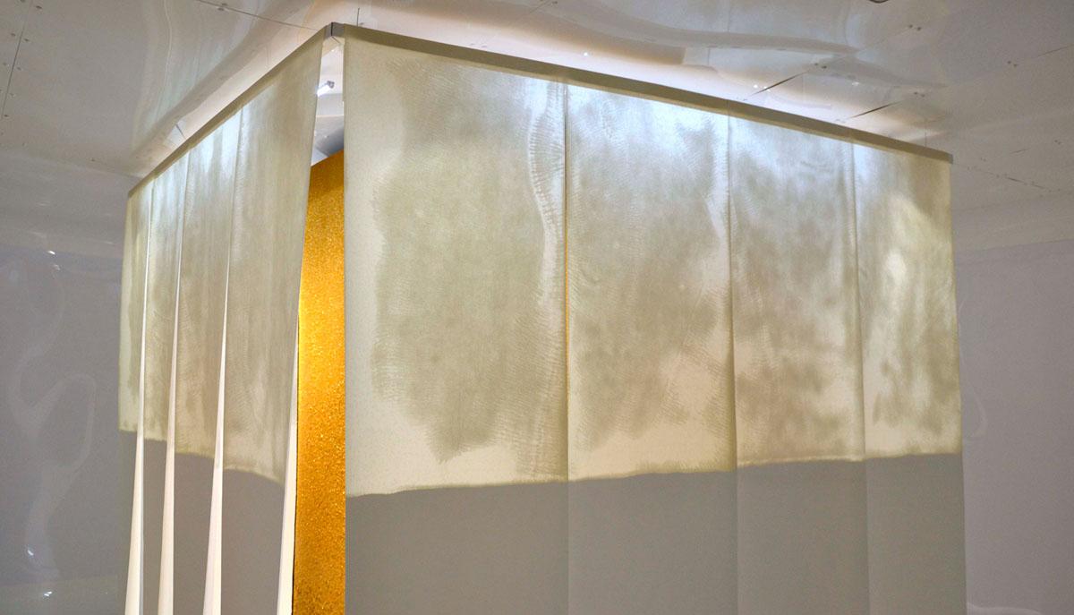 """Collaboration avec l'artiste Plasticienne Léa Barbazanges pour la création et la réalisation de l'oeuvre """"Tontisse Panoramique"""""""