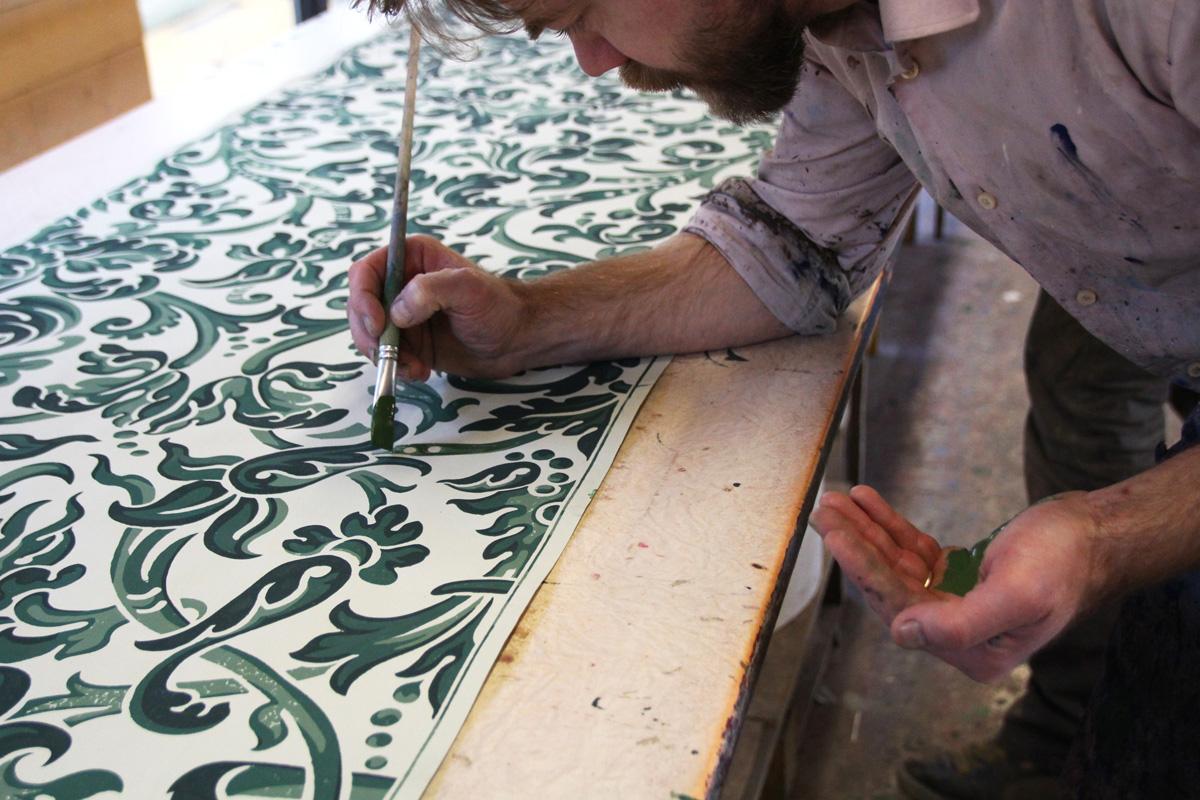 L'atelier d'Offard - reconstitution pour le château de Grignan