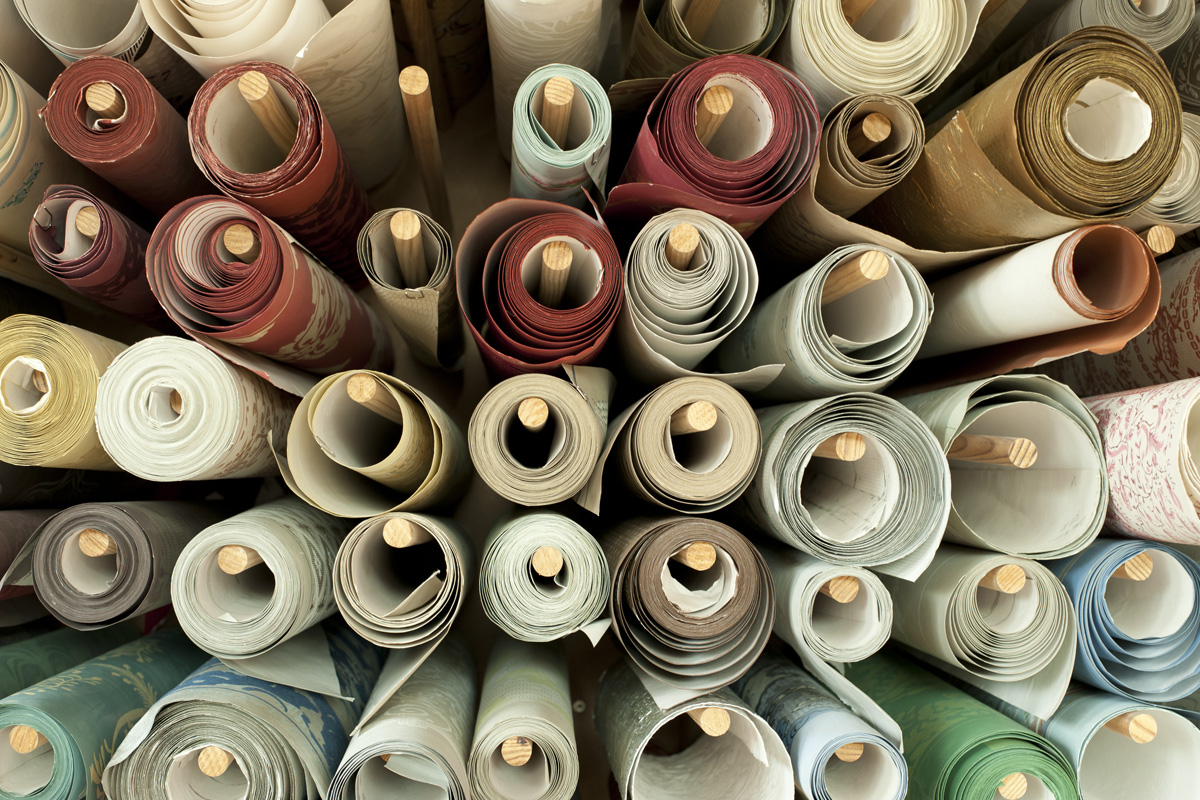 Atelier d'Offard - Rouleaux de papier
