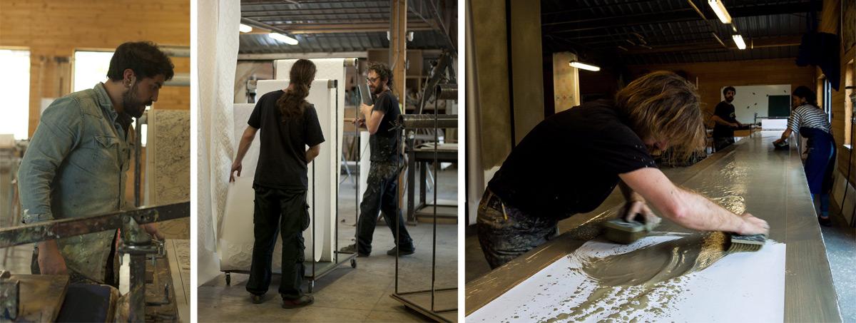 Atelier d'Offard - our team