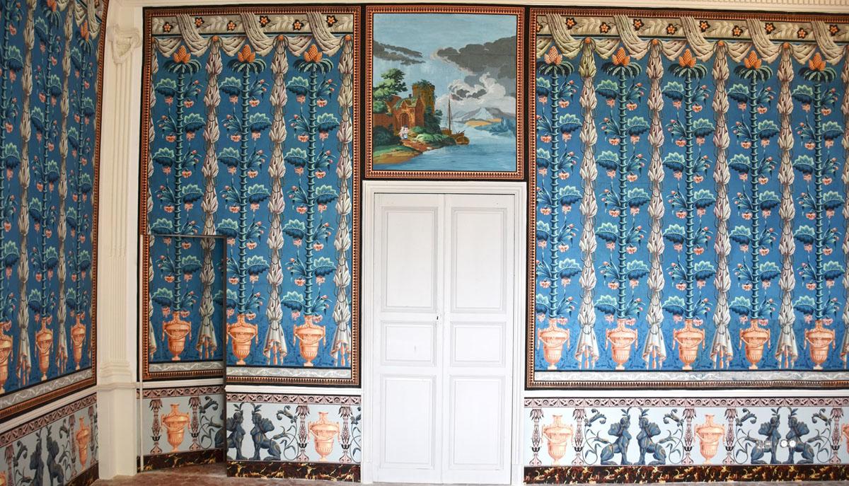 Atelier d'Offard - Restauration pour le château «Beauregard».